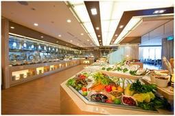 (宜蘭)礁溪長榮鳳凰酒店 桂冠自助餐廳 平日雙人午晚餐券 台中可自取