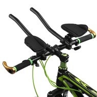 § Bike Rest Handlebar Cycling Aero Bar Bicycle Relaxation Handle Bar Triathlon MTB Road Bike Arm Rest Bar Bike Aerobar T