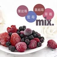 【莓果工坊】新鮮冷凍森林莓果(蔓越莓+野生藍莓+覆盆子+草莓)