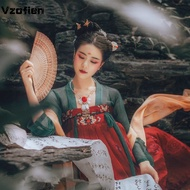 Hanfu Women Chinese Traditional Embroidered Princess Dance Dress Oriental Style Tang Dynasty Ancient