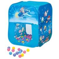 【寶貝樂】方形帳篷折疊遊戲球屋送200球