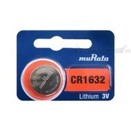 muRata村田(原SONY) 鈕扣型 鋰電池 CR1632 (5顆入) 3V