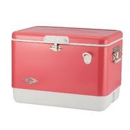 【Coleman 美國】54QT 經典鋼甲冰箱-草莓紅 60周年紀念款 (CM-04166M000) 【容量51L】