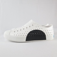 Native JEFFERSON BLOCK 洞洞鞋 半月系列 111001028868 男女款 白X黑【iSport】