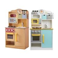 【Teamson Kids】佛羅倫斯木製廚房玩具(2色)