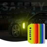 【8/6】Door Stickers Reflective Stickers Safety Warning Stickers Reflective Film