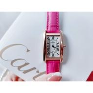Cartier-Cartier Tank Américaine Imported Quartz Movement Ladies Watch