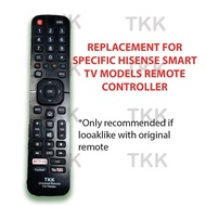 Hisense Remote Control For SPECIFIC MODELS of Hisense Smart TVs