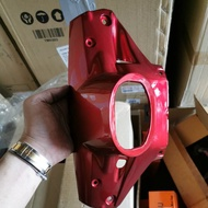 YAMAHA Y80 ET HANDLE LOWER COVER (RED DRMK)
