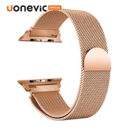Uonevic Milan LOOP Bracelet สายสแตนเลสสำหรับ Apple Watch Series 5 4 watchband - 40mm