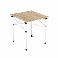 【露營趣】Coleman 天然實木蛋捲桌/65 休閒桌 戶外桌 露營桌 折疊桌 野餐桌 CM-23502