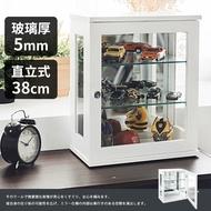 收納櫃/展示櫃/公仔 直立式38cm玻璃展示櫃 MIT台灣製 完美主義 【R0075】