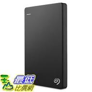 [107美國直購] 外置硬碟 Seagate Backup Plus Slim 1TB Portable External Hard Drive USB 3.0, Black (STDR1000100)