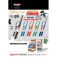 《Hi-Bookstore》ZEBRA 日本斑馬 SARASA 按壓式鋼珠筆 名偵探柯南 限量款 JJ15-CO