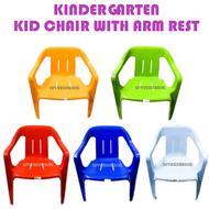 3V Kerusi Budak Tadika Kindergarten Kid Plastic Chair with Arm