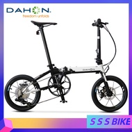 Dahon K3plus Foldable Bicycle 16 Inch Mini Ultra Light Variable Speed Disc Brake Folding Bicycle Adult Men's And Women's Bicycle