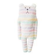 【CRAFTHOLIC 宇宙人】花俏緞帶熊大抱枕(熱銷系列)