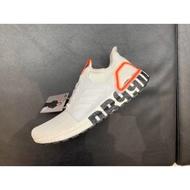 限時下殺Adidas UltraBOOST 19 DB 白 粉紅 LOGO 愛迪達 貝克漢 FW1970