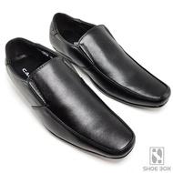 Cabaye รองเท้าคัชชูผู้ชาย รองเท้าหนัง CA134 - Black