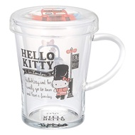泡茶罐 日本 Hello Kitty 英倫風 透明 玻璃 喫茶 茶壺 杯子 正版日本進口授權