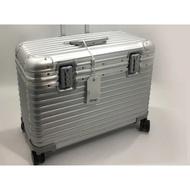 全新正品RIMOWA PILOT Business 20吋鋁鎂合金四輪商務登機箱 行李箱 銀色