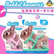 超可愛兔用拉繩背帶 兔背帶 網狀胸背帶 兔牽繩 天使翅膀 背帶牽繩 蹓兔繩 兔子拉繩