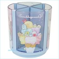 asdfkitty可愛家☆角落精靈/角落生物冰淇淋四格可拆旋轉筆筒/置物架-日本正版商品