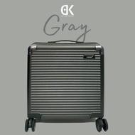 กระเป๋าเดินทาง 18 นิ้ว กระเป๋าเดินทางพกขึ้นเครื่อง กระเป๋าเดินทาง 4 ล้อ ใส่โน๊ตบุ๊คได้