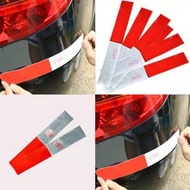 Reflective Stickers Night Light Reflective Sticker Warning Sign Red