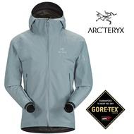 【ARCTERYX 始祖鳥 加拿大】Zeta SL 防水外套 風雨衣 防水夾克 男款 機械灰 /L07131700