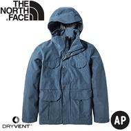 【The North Face 男 DryVent防水外套《海軍藍》】4979/防水外套/防風外套/夾克/風衣