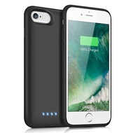 Upgraded 8500mAh Portable Charging Case Extended Battery Pack for iPhone 6s Plus//6 Plus//7 Plus //8 Plus Rechargeable Charger Case - Black Battery Case for iPhone 6Plus//6s Plus//7Plus //8Plus 5.5 inch
