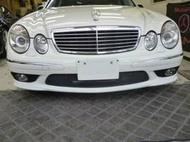 正AMG W211 前保 大包 套件 非台製(WALD BRABUS LORINSER)E200 240 280 320 500 55 E63 W210 140 220 124 CLS SL SLK CLK