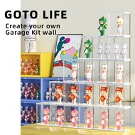 💥GOTO💥 highly Clear Acrylic Display Case Dustproof Protection Showcase for Gundam, Action Figures & Collectibles display box figure