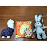 現貨迪士尼史黛拉兔娃娃正版小熊維尼跳跳虎抱枕靠墊羊駝草泥馬玩偶公仔絨毛娃娃玩具超可愛大娃娃交換禮物生日禮物耶誕禮物