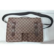 Louis Vuitton LV N42270 已停產 棋盤格紋 郭富城包 側背包 (有原版購買證明)