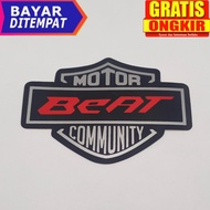 Beat Motorcycle Stickers, Honda Beat Motor, Honda Beat, Motorcycle Stickers, Motorcycle Stickers, Beat Accessories