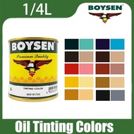 COD BOYSEN Original Oil Tinting Colors - 1 4L for Enamel Tinted paint Toning paint Household paint