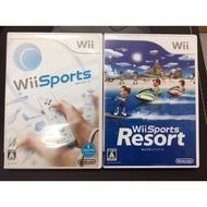 日本帶回 一代 二代 Wii Sports 運動 度假勝地 渡假勝地 二手 遊戲 體感遊戲 日版 正版 遊戲