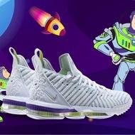 Nike LeBron 16 Buzz Lightyear 巴斯光年 白 綠紫 AO2595-102