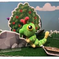 🔥現貨🔥⚡️ZACKTOYS - 神奇寶貝 Pokemon fit 綠毛蟲 娃娃<此商品寄出後,不做退換貨>