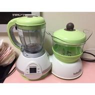 二手九成新_法國【Babymoov】多功能食物調理機&分裝碗