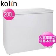【Kolin 歌林】200L臥式冷凍冷藏兩用冰櫃(KR-120F02)