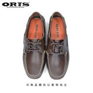 【oris 帆船鞋】ORIS復古素色帆船鞋-綠/女款-766A06(真皮/手工/帆船鞋)