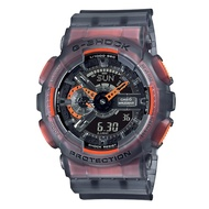 CASIO G-SHOCK GA-110LS-1A 夏季必備半透明螢光流行腕錶