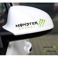 [Formula GP] Monster Energy 鬼爪 反光鏡 後視鏡 後照鏡 安全帽 車貼貼紙
