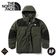 [現貨] The North Face 美國 男 GORE-TEX羽絨外套《褐綠》/46GH/防水外套/羽絨衣