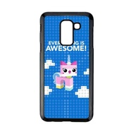 Cococase The Lego Movie 2 The Second Part W5743 Hardcase Casing for Samsung Galaxy A6 Plus 2018 Blue