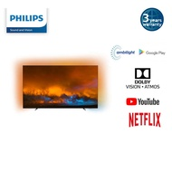 Philips 4K Ultra HD OLED Smart Digital TV with 3 sided Ambilight, Dolby Vision and Atmos in 55OLED804 | 65OLED804