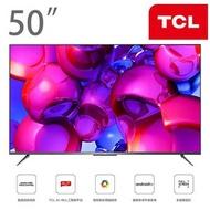 TCL - 50吋 P715 4K超高清安卓智能電視